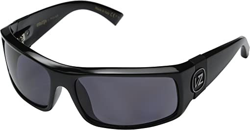 Black Gloss/Vintage Grey Wildlife Polarized Lens