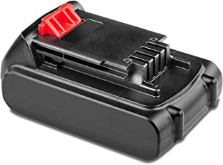 Replace for Black and Decker 20V Battery DCDMT120 CHH2220 LCS120 LDX120C LDX120SB LGC120