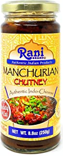 Rani Manchurian Chutney 8.8oz (250g) Glass Jar ~ No Colors | Non-GMO | Vegan | Gluten Free | Indian Origin