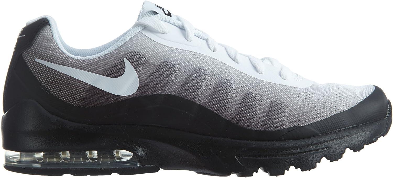 Amazon.com | Nike Men's Air Max Invigor Print Running Shoe, Black ...