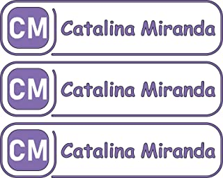 All-purpose, Custom Name Labels, Name And Initials, Multiple Colors And Sizes, Waterproof, Microwave And Dishwasher Safe, Washer And Dryer Safe, Personalized Labels, Camp Labels, Custom Stickers