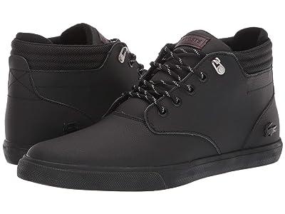 Lacoste Esparre Winter C 319 1 (Black/Black) Men