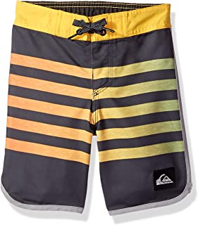 Quiksilver Children (youths) Everyday Grass Roots Boy 14 Ebony Boardshort Size 6