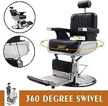 JAXPETY Hydraulic Recline Barber Chair Heavy Duty Shampoo Spa Beauty Salon Equipment