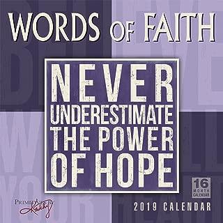 Words of Faith - Primitives by Kathy 2019 Wall Calendar