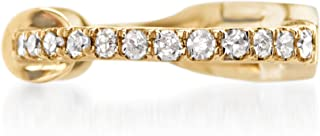 Ross-Simons Diamond-Accented Single Ear Cuff in 14kt Yellow Gold