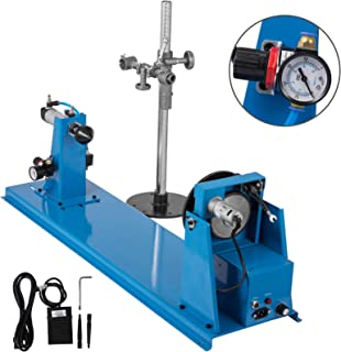 Mophorn 10KG Rotary Welding Positioner Turntable Table 110V Mini 0-90ºWelding Positioner Positioning Turntable KC-65 KC-80 Lathe Chuck 180mm Dia Worktable Welder Positioner Turntable Machine