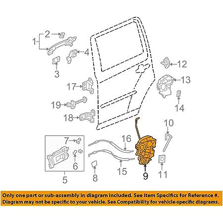 Garage-Pro Front Door Lock Actuator Compatible with 2009-2015 ...