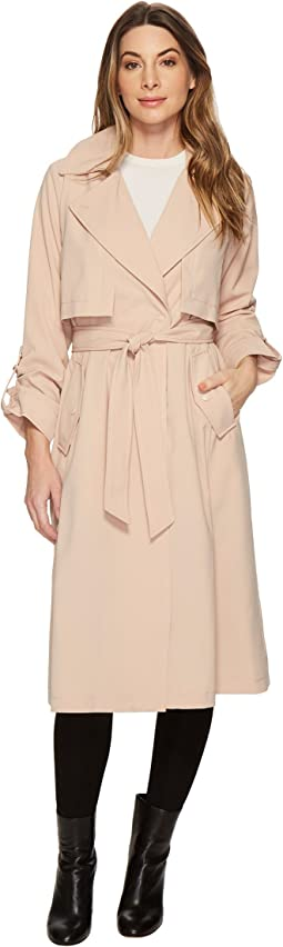 Vince Camuto Long Fluid Trench