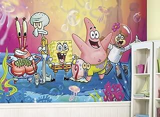 RoomMates Spongebob Squarepants  Removable Wall Mural - 10.5 feet X 6 feet
