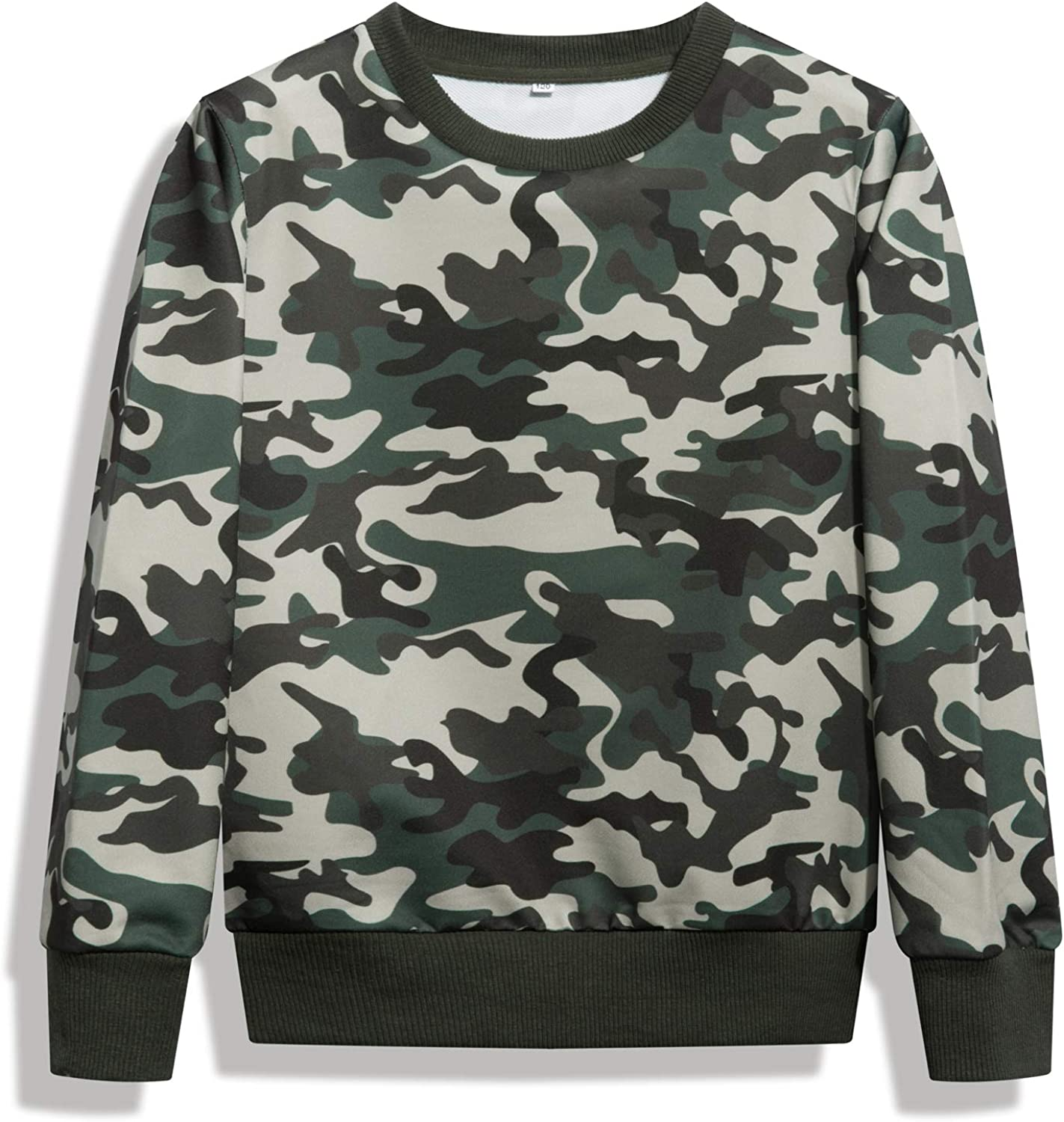 HZXVic Pullover Sweat Shirt for Boys, Casual Kids Sweatshirts, Toddler Long Sleeve Crewneck Tops: Clothing
