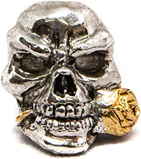 Schmuckatelli Co. Rose Skull Bead