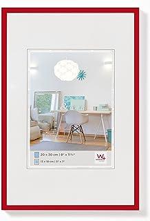 Walther Design  New Lifestyle -  Marco de plástico, Rojo, 20 x 30 cm