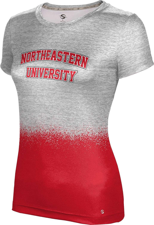 ProSphere Northeastern University Girls' Performance T-Shirt (Spray Over)