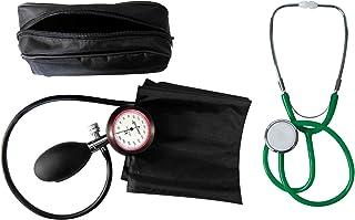 Tensiómetro, brazo, 1de manguera Tiga de oro 1Plus estetoscopio verde 1pieza de cabeza plana (= 1set–2Artículo) Certificado kliniq Calidad