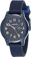 Lacoste Unisex-Kinder Analog Quarz Uhr mit Silikon Armband 2030002