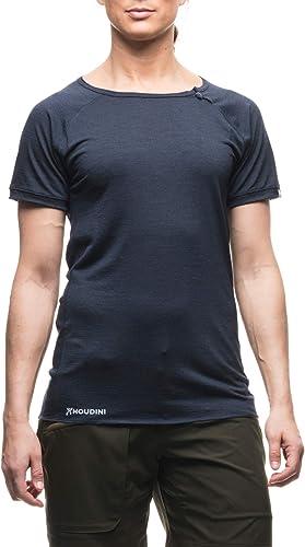 Houdini Airborn T-Shirt Manches Courtes Femme, bleu Illusion 2017 Tshirt Manches Courtes
