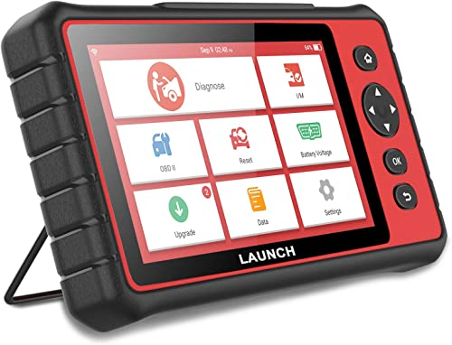wholesale LAUNCH CReader 909 online sale Automotive OBD II OBD2 Scanner 7'' Touch Screen Android Tablet Car Computer Code Reader Auto Engine ABS Airbag Body Brake TPMS Scan Tool Key Fob Programmer with 15 outlet online sale Special Functions online sale