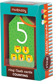 Mudpuppy Illustrated Counting Flash Cards for Ages 1 to 3 – Introduction to Counting & Basic Math