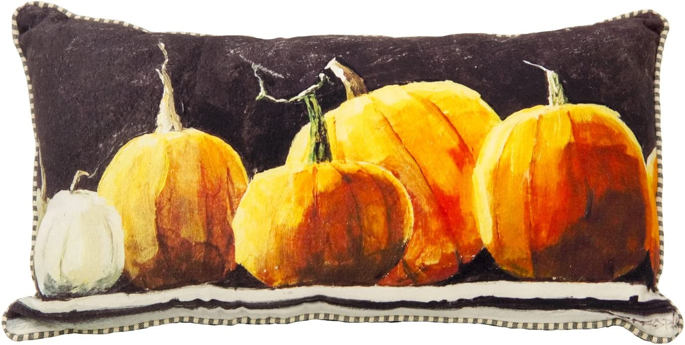 The Round Top specialty shop NEW before selling ☆ Collection Pumpkin Pillow Mantel -