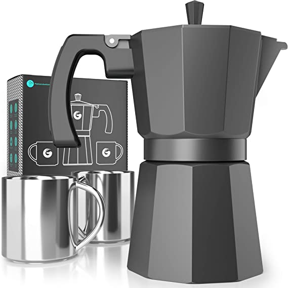 Moka Pot Stovetop Espresso Maker - Coffee Gator