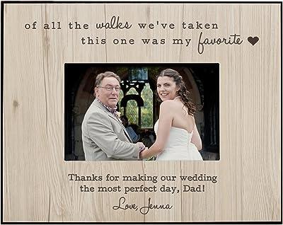 GiftsForYouNow Favorite Walk Wedding Personalized Frame, Horizontal