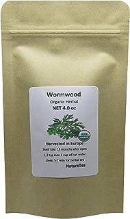 Organic Wormwood - Artemisia absinthium Loose Leaf by Nature Tea (4 oz)