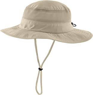 Connectyle Toddler Kids UPF 50+ Bucket Sun Hat Wide Brim UV Sun Protection Hat