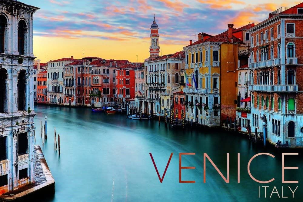 OFFicial mail order Venice Italy Canal View 16x24 Gallery Deco Max 77% OFF Print Wall Giclee