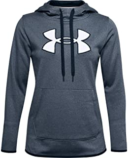 Under Armour Women's Armour Fleece Big Logo Chenille/Shine Hoodie
