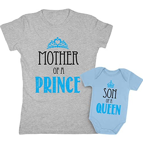 bec4197718 Mother   Son Matching Set Gift for Mom Baby Boy Shower Bodysuit   Women ...