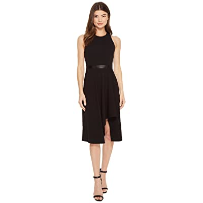 Calvin Klein High-Low with Contrast Lining CD8C11KV (Black/White) Women