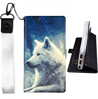 Lovewlb Case for Grid Communications (Sg) Gs6100 Cover Flip PU Leather + Silicone case Fixed Lang