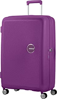 American Tourister Soundbox - Spinner Large Expandable Valise, 77 cm, 110 Liters, Violet (Purple Orchid)