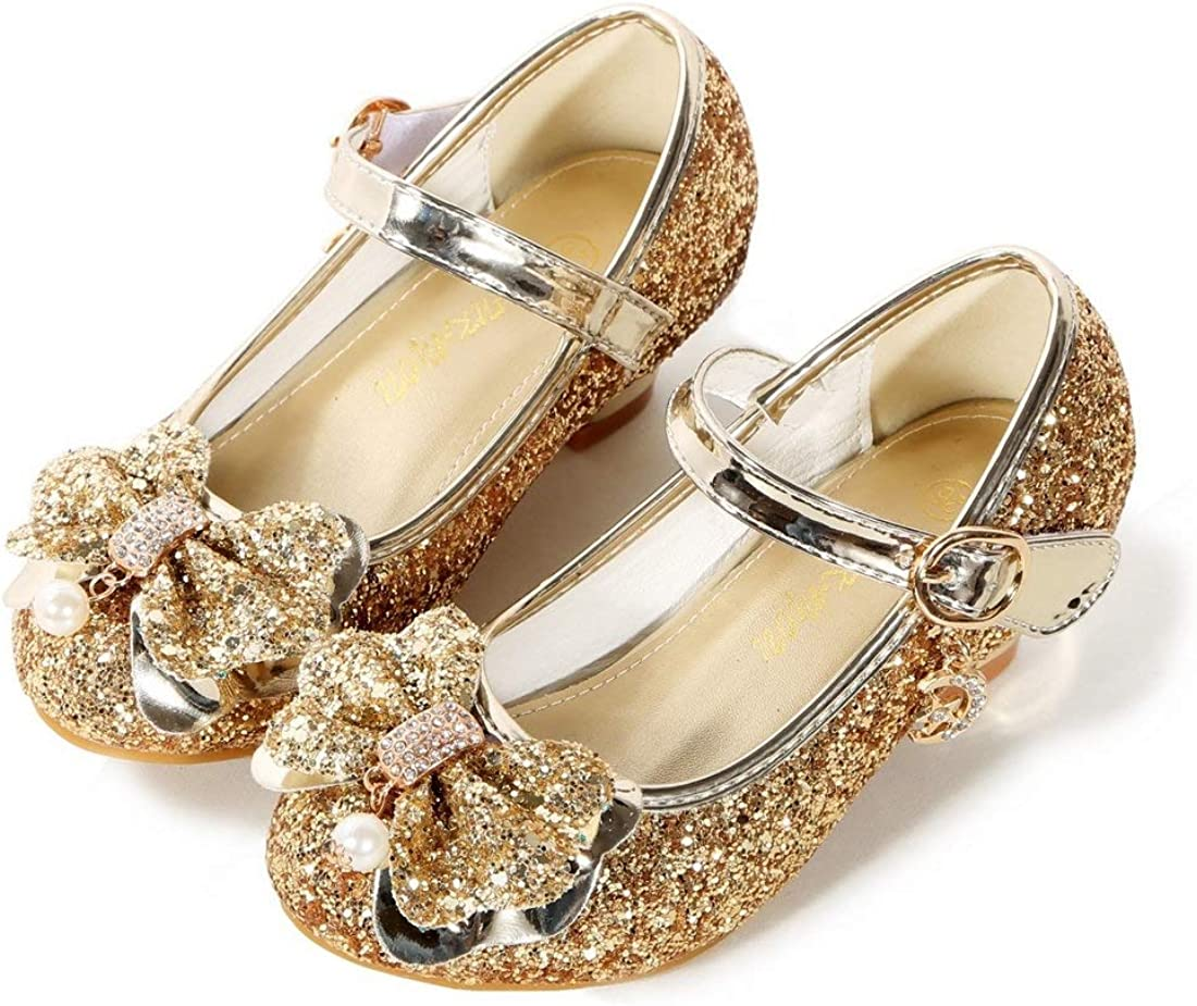 BFOEL Girls trend rank Dress online shop Shoes Adorable Sparkle Flats Wed Jane Mary for