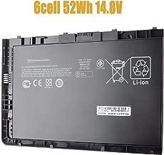 BT04XL Laptop Battery Compatible with HP EliteBook Folio 9470 9470M Series HSTNN-IB3Z HSTNN-I10C BT04 BA06 687517-1C1 52Wh 14.8V -18 Months Warranty