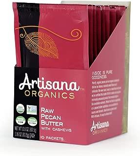 Artisana Organics Raw Pecan Butter with Cashews (10 Pack (1.06 oz))