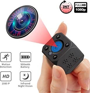 RITASP Mini Hidden Camera, Wireless Night Vision Spy Cameras, Small Motion Detection Nanny Cam with Phone App for Home Security and Outdoor