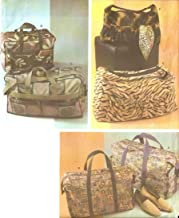 Simplicity 4582 Sewing Pattern Carryall Tote Bags