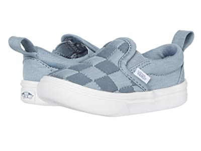 Vans Kids Autism Awareness ComfyCush Slip-On V (Infant/Toddler) ((Autism Awareness) Sensory/Squishy Check) Girls Shoes