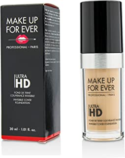 MAKE UP FOR EVER Y325 Ultra Hd Invisible Cover Foundation, 30 ml