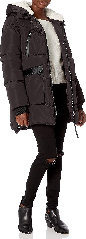 Steve Finally popular brand Rare Madden Women's Parka Jacket Puffer
