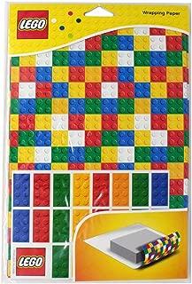 Lego Gift Wrapping Paper Lego Bricks Set
