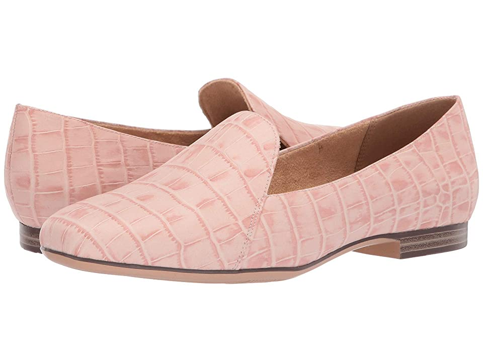 Naturalizer Emiline (Rose Pink Crocco Leather) Women's  Shoes