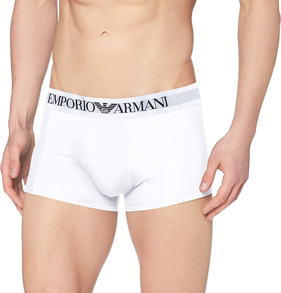 Emporio armani ,mutandine,boxer elasticizzato per uomo,95% cotone, 5% elastan 111389CC729B