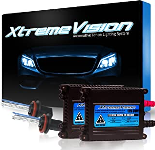 XtremeVision DC 35W Xenon HID Lights with Premium Slim Ballast - H11 5000K - 5K Bright White - 2 Year Warranty