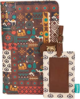 Chumbak Animal Caravan Travel Wallet with Luggage Tag