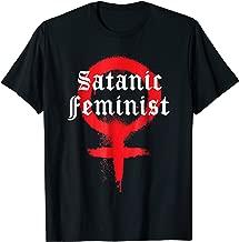 Goth Punk Death Metal Satanic Feminist T Shirt
