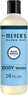 Mrs. Meyer's Clean Day Moisturizing Body Wash for Women and Men, Cruelty Free and Biodegradable Shower Gel Made with Essen...