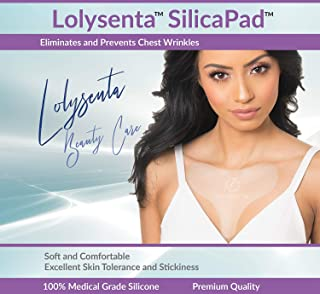 Lolysenta SilicaPad for Chest Wrinkles, Silicone Chest Wrinkle Pad for Chest Wrinkle Prevention, Anti Wrinkle Chest Pads, ...